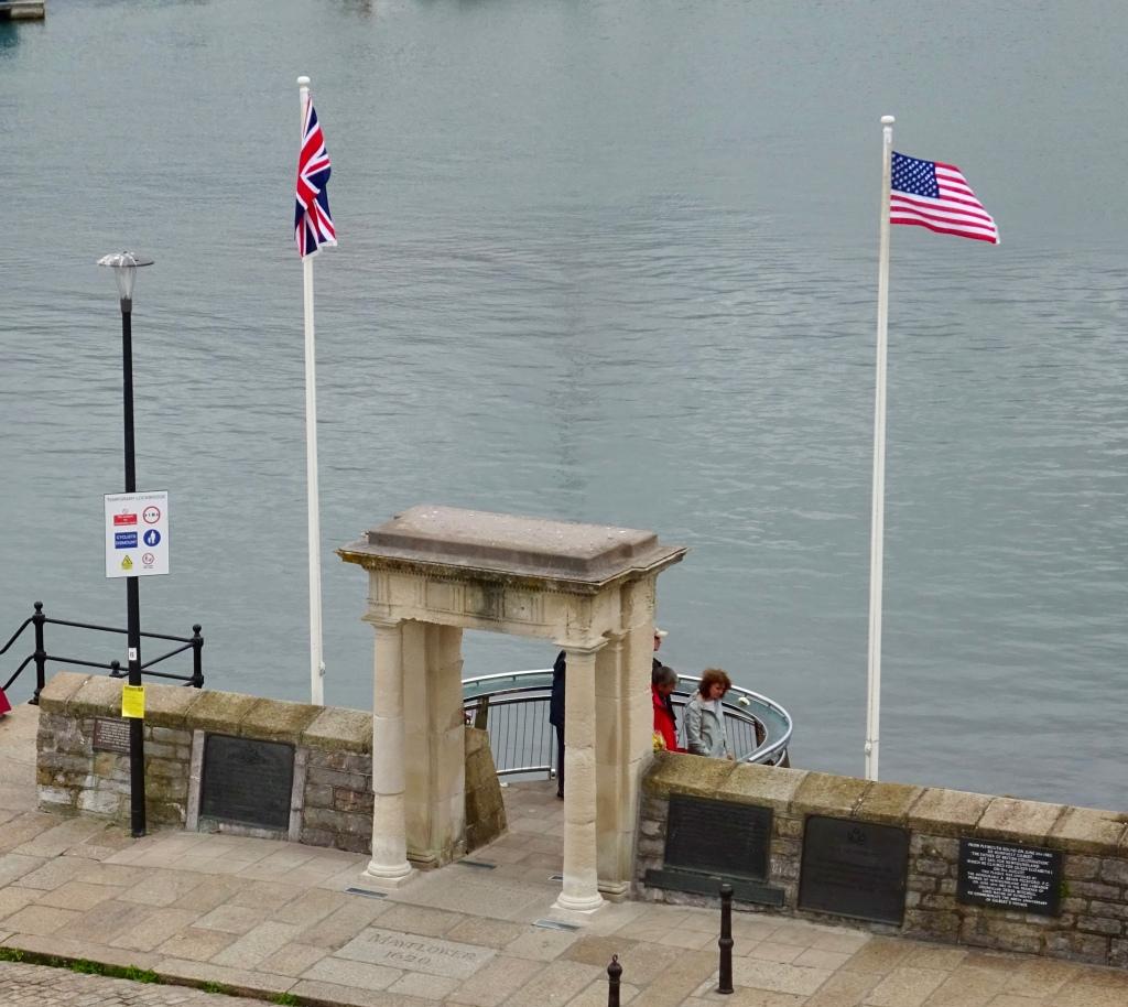 Pilgrim Steps, Plymouth, Cornwall