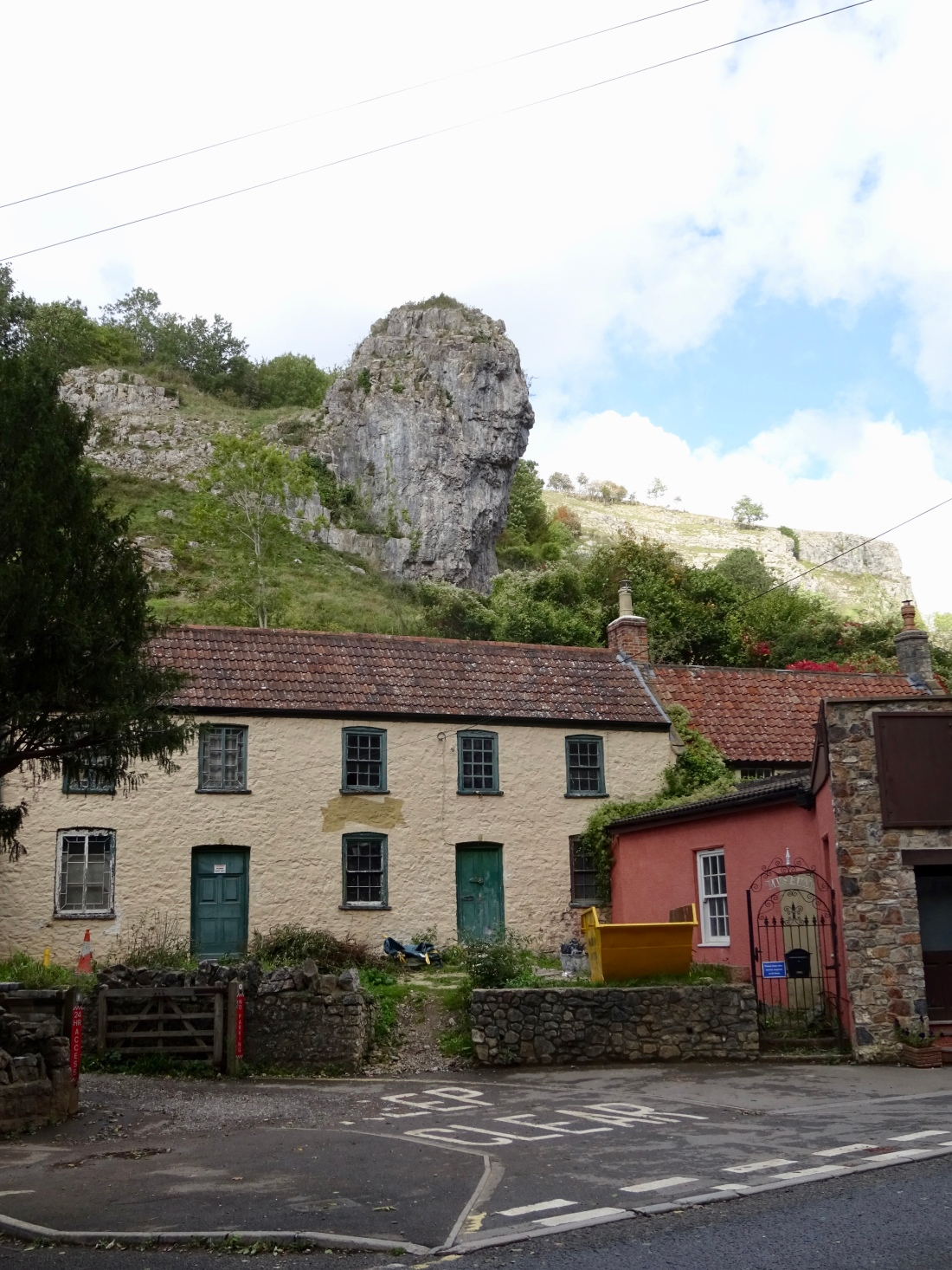 Lion Rock, Cheddar Gorge, Somerset, England.