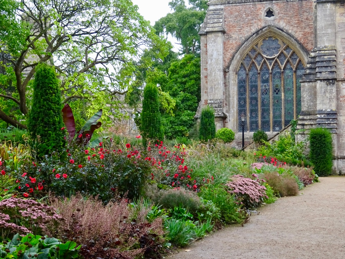Bishop's Palace gardens, Wells, Somerset